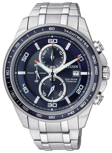 Citizen Super Titanium - Chrono (sin.)