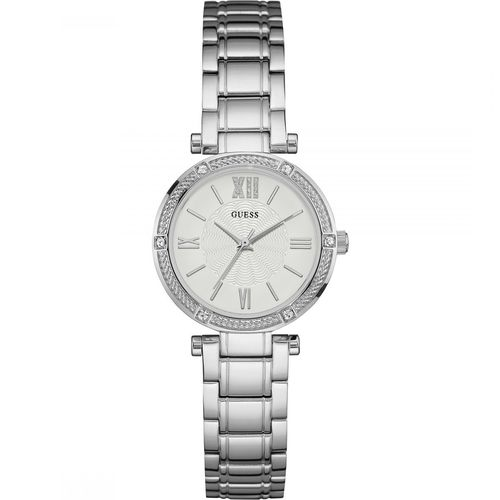 Guess Park Ave South Silver naisten rannekello